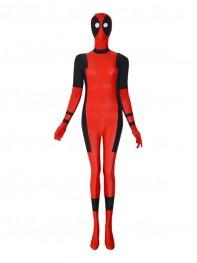 Female Style Sector Eyes Deadpool Superhero Costume
