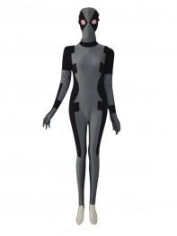 Black & Grey 2014 Deadpool Costume