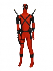 Marvel Comics Deadpool Superhero Cosplay Accessories Full Set