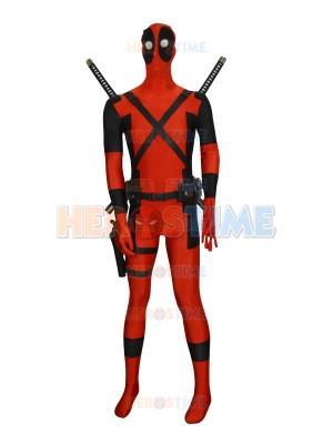 Marvel Comics Deadpool Superhero Cosplay Accessories Full Set