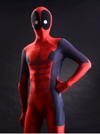 3D printing deadpool costume muscles shade morph fullbody suit