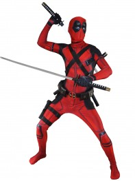 Movie Deadpool Costume 3D Printed Cosplay Suit