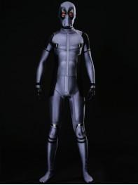 X-Force Deadpool Costume Grey Deadpool Cosplay Suit