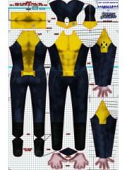 Negasonic Teenage Warhead Deadpool Superhero Cosplay Costume