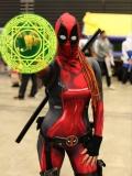 Lady Deadpool 3D Printed Cosplay Suit