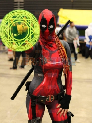 Lady Deadpool 3D Printed Cosplay Suit
