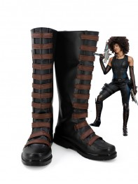 Domino Shoes Deadpool 2 Domino Cosplay Boots