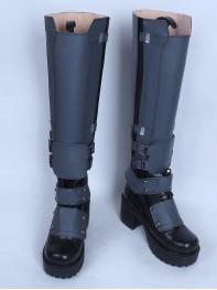 Grey Deadpool Wade Wilson Custom Superhero Boots