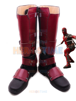 Hot Deadpool Superhero Boots Superhero Cosplay Shoes