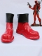 Marvel Comics Deadpool Red & Black Short Cosplay Boots
