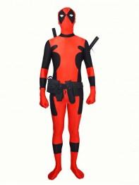 Newest Hot Deadpool Spandex Deadpool Costume