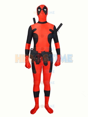 Newest Hot Deadpool Spandex Deadpool Costume