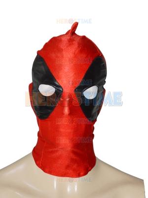 Black & Red Special Type Deadpool Spandex Hood