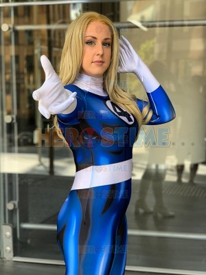 Invisible Woman Costume Fantastic Four Female Costume