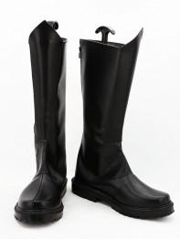 Fantastic Four Human Torch Black Superhero Boots