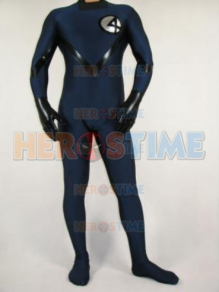 Fantastic Four Human Torch Spandex Superhero Costume & Fantastic Four Costume for Adult and Kids to Cosplay Superhero Team