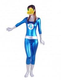 Fantastic Four Shiny Metallic Mr. Fantastic Superhero Costume