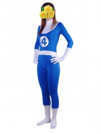 Marvel Comics Fantastic Four Spandex Superhero Costume