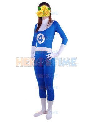 Marvel Comics Fantastic Four Spandex Superhero Costume