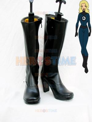 Marvel Comics Invisible Woman Superhero Boots
