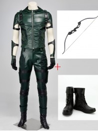 DC Comics Superhero Arrow Season 4 Cosplay Full Set