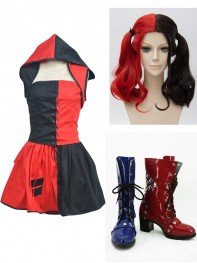 Batman:Arkham City Harley Quinn Cosplay Full Set
