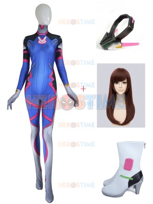 D.Va Costume Video Game Overwatch D.VA Cosplay Full Set