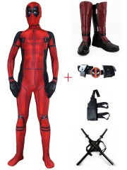 2016 Deadpool Movie 3D Printed  Deadpool Cosplay Full Set