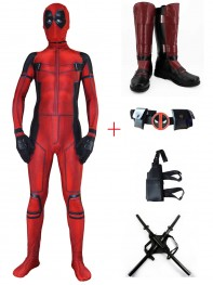 Newest Deadpool Movie 3D Printed Deadpool Cosplay Full Set