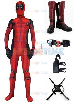 Newest Deadpool Movie 3D Printed Deadpool Cosplay Full Set