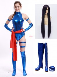 Marvel Comics X-men Psylocke Cosplay Full Set