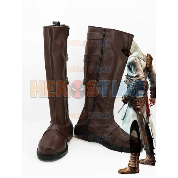 Assassins Creed Cosplay Altair Ibn La Ahad Cosplay Boots