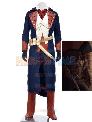 Assassin's Creed Rogue Arno Victor Dorian Mens Cosplay Costume