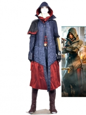 Assassin's Creed Syndicate Evie Frye Female Cosplay Costume