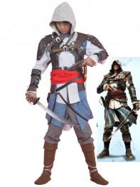 Assassins creed Edward James Kenway Cosplay Costume