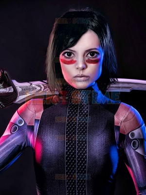 Alita Suit Battle Angel Printed Cosplay Costume