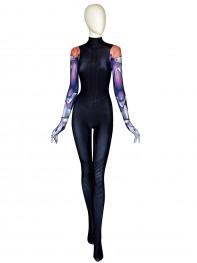 Alita Suit Battle Angel Printed Cosplay Costume