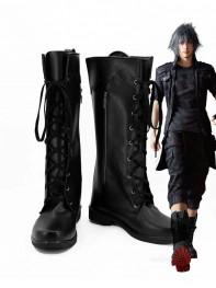 Final Fantasy XV Noctis Lucis Caelum Black Cosplay Boots