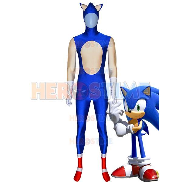 Sonic The Hedgehog Costume Halloween Cosplay Costume
