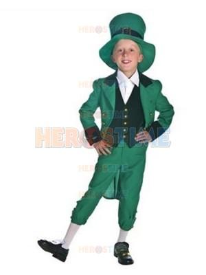 2017 Halloween Ireland Fairy Kid Swallow-tailed Fancy Dress Costume
