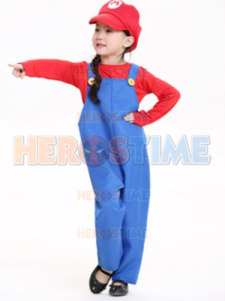 ... 2017 Kids Mario And Luigi Costumes Super Mario Bros/Brothers Halloween Costume ...  sc 1 st  Herostime.com & Mario And Luigi Costumes Super Mario Bros/Brothers Halloween Costume