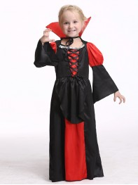 Children Girls Vampire Halloween Christmas Fancy Costume