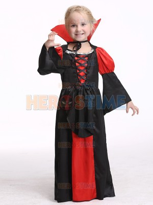 Children Girls Vampire Halloween Christmas Fancy Costume
