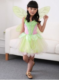 Cute Pixie Forest Princess Wing One piece Ball Gown