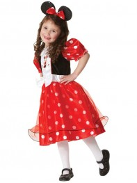 Girl Minnie Mouse Halloween Costume Kids Fancy Costume