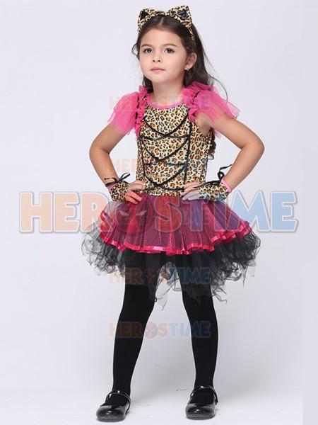 sc 1 st  Herostime.com & Halloween Leopard Print Fancy Dress Party Costume Tutu Dress