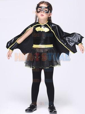 Kids Batgirl Cosplay Halloween Costume