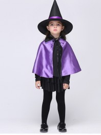 Newest Children Girls Witch Halloween Party Fancy Dress