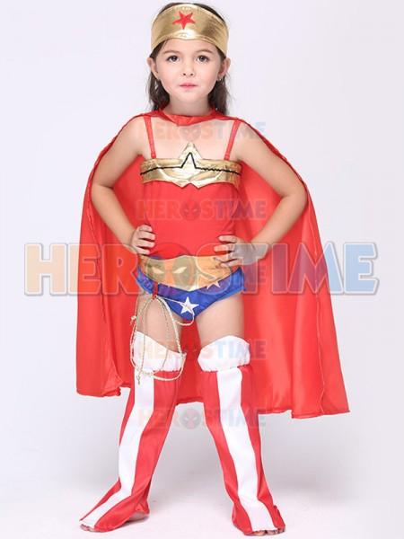 sc 1 st  Herostime.com & Superhero Girls Wonder Woman Fancy Dress Halloween Costume