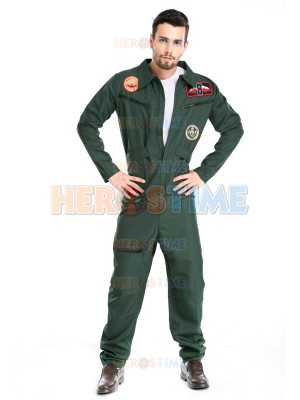 2017 Adult Aviator Fancy Costume Pilote Halloween Costume